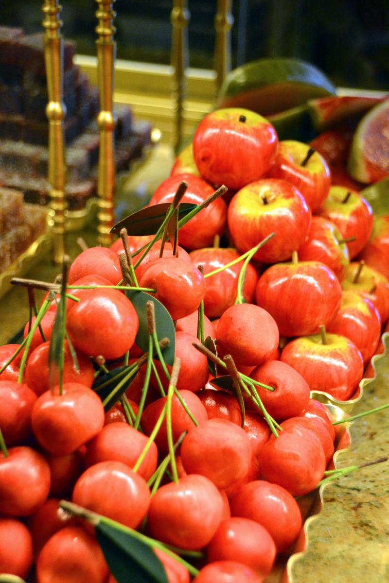 2. Марципановые фрукты